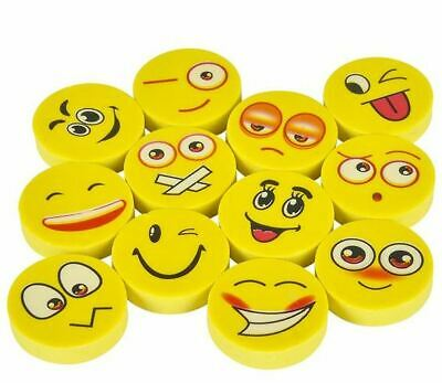 1000 Capsuled Emoji Eraser Carnival Fun Fair Party Game Prizes Award Vending Toy