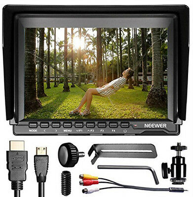 "NW759 7"" HD 1280x800 IPS Screen Camera Monitor for Sony Canon Nikon"