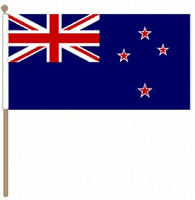 "New Zealand (9"" x 6"") Hand Waving Flag"