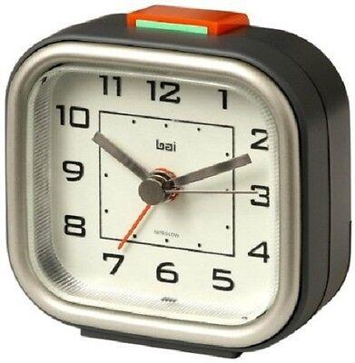 Bai Squeeze-Me Travel Alarm Clock, Gotham with Pouch 530. GO