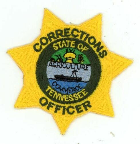 TENNESSEE TN CORRECTIONS OFFICER NICE COLORFUL PATCH SHERIFF POLICE 3 INCHES