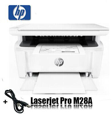HP LASERJET PRO MFP M28A LASER 3-in-1 MULTIFUNKTIONSDRUCKER 18 S/min * NEU