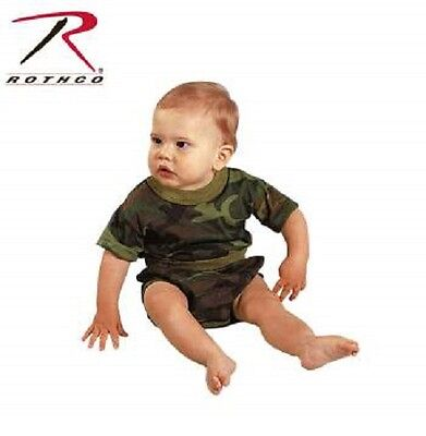 Rothco 6563 Infant Woodland Camouflage T-shirt Infant Woodland Camouflage T-shirt