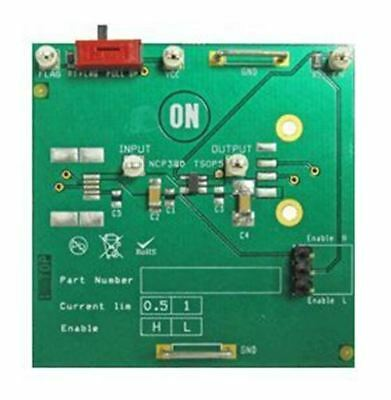 ON Semiconductor NCP380HSN05AGEVB High-Side Power Distribution Switch Evaluation
