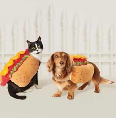X Small Dog Halloween Costumes (Dog Cat ~ HOT DOG ~ Halloween Costume ~ X-Small XS  ~)