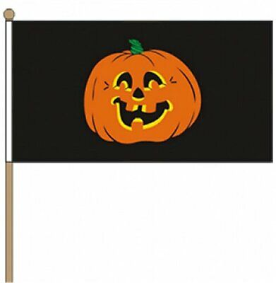 Paquete de 12 Calabaza (Halloween) (22.9cm X 15.2cm) para Agitar con Mano - Calabaza Para Halloween