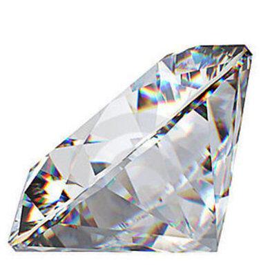 Echter Diamant mit Brilliantschliff G SI 0.01ct 1.4mm