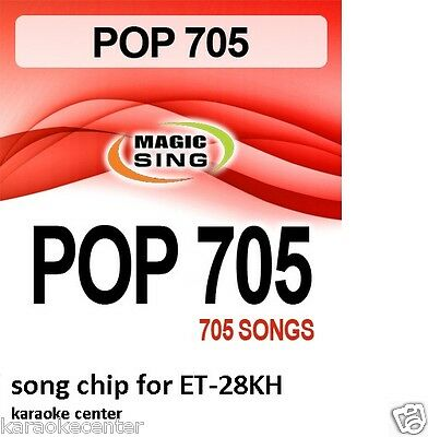 94a60c6f82ab63 Enter Tech Entertech Magic Sing Mic Pop Chip 705 Songs for ET28KH