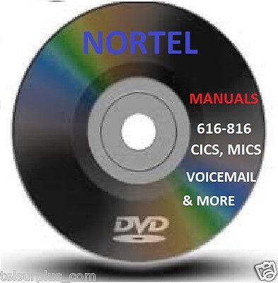 Massive Norstar Nortel Phone System Setup Install Setup Manuals Dvd