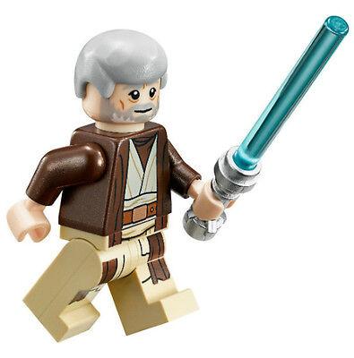NEW LEGO STAR WARS OBI WAN KENOBI MINIFIG figure minifigure 75052 75173 (Lego Obi Wan Kenobi)