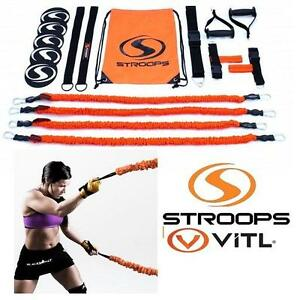 NEW STROOPS RESISTANCE TRAINING KIT The VITL Kit is our all-in-one portable resistance training kit. 103649225