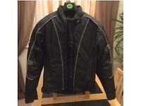 Ladies motor bike jacket - size 14