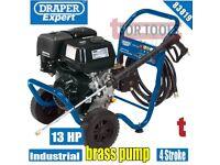 DRAPER EXPERT 83819 13HP PETROL PRESSURE WASHER 4 STROKE BRASS PUMP