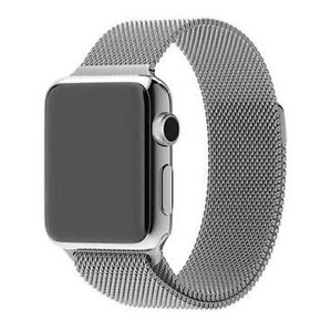 Milanese Magnetic Stainless Steel Band (For Apple Watch)