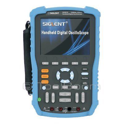 Siglent Shs806 Handheld Digital Oscilloscope 2-channel 60mhz 1gsas 2mb 5.6 Lcd