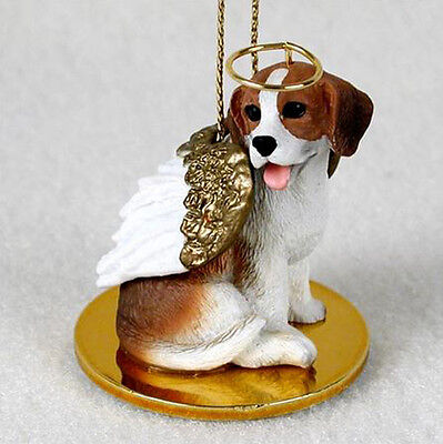 BEAGLE ANGEL DOG CHRISTMAS ORNAMENT HOLIDAY Figurine Statue Memorial gift Dog Christmas Holiday Ornament