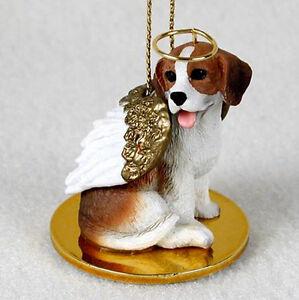 BEAGLE ANGEL DOG CHRISTMAS ORNAMENT HOLIDAY Figurine Statue Memorial gift