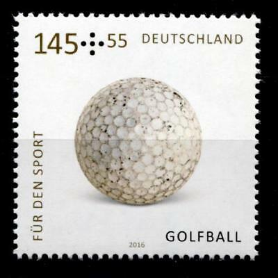 Spielbälle. Golfball. 1W. BRD 2016