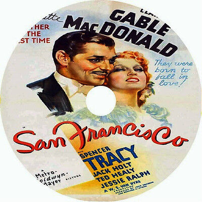 1936 Clark Gable (San Francisco _ Clark Gable Jeanette MacDonald Spencer Tracy v rare 1936)