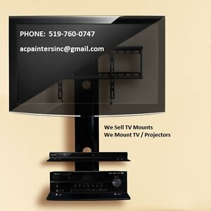 TV Mounting Service - Projectors - Screen Wall Mounting Service
