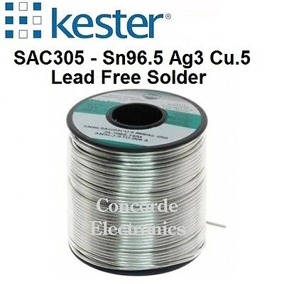 Kester Lead Free Solder 24 7068 6401   331 Water Soluble Flux    020   3    1 Lb