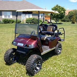 *REDUCED* Custom Gas Golf Cart