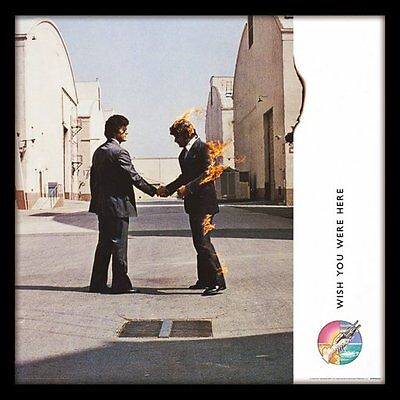 Pink Floyd - Wish You Were Here - Framed Album Cover Print ACPPR48127