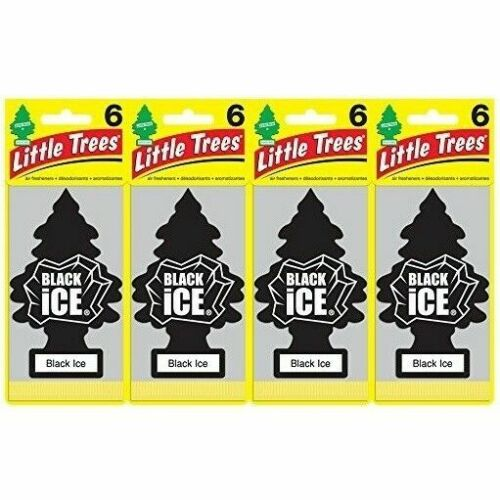 air freshener black ice pack of 24