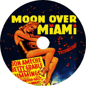 Moon Over Miami - Betty Grable Don Ameche Robert Cummings Rare 1941