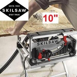 "NEW SKILSAW 10"" PORTABLE TABLE SAW SPT70WT-01 233012680 Worm Drive Table Saw with 25"" Rip Capacity"