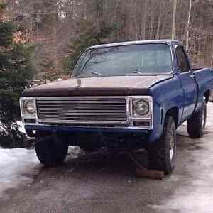 1979 chevy k20 short box