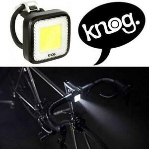 NEW KNOG BIKE FRONT LIGHT 11712 250025994 BICYCLE CYCLING BLINDER MOB MR CHIPS BLACK WATERPROOF