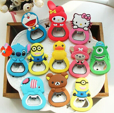 Charms Cute Beer Bottle Opener Kitchen Tool Fridge Magnet Ornaments Decorations Ebay