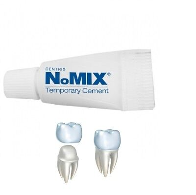 Temporary Dental Cement Glue For Crowns Bridges - Emergency Use