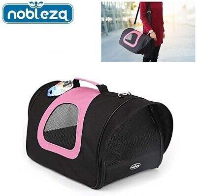 Transportin bolsa para perro gato mascotas de viaje Bolso plegable L 45x28x29cm