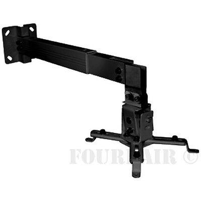 Universal Projector Wall or Ceiling Mount Bracket Tilt DLP LCD - 44 lbs - Black