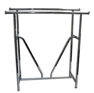 im selling a very sturdy double rod cloths rack price firm