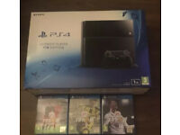 Sony PS4 1GB + Controller + Fifa 18 & Other Games (MUST GO TODAY)!!!!