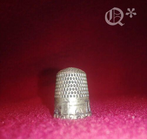 Vintage Sterling Thimble #6