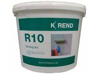 Used, K rend R10 primer render bonding aid tub - 10kg approx for sale  Sheldon, West Midlands