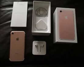 Iphone 7 rose gold 256gb Ee
