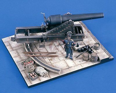 Verlinden 54mm 1/32 Union 100-Pounder Parrott Rifle in Fortress Emplacement 2161