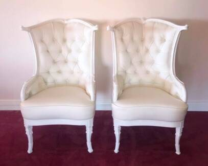 Throne Chairs for Wedding Receptions