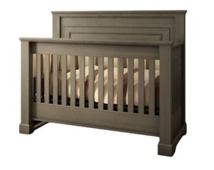 Solid Wood Crib (convertible to double bed)