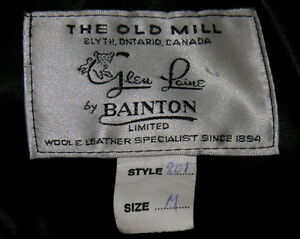 leather jackets Bainton's Old Mill London Ontario image 3