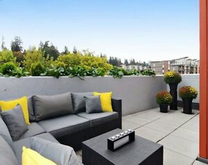 BIG New 1Bdrm Condo w/Huge Furnished Patio, 10mins to Downtown North Shore Greater Vancouver Area image 10