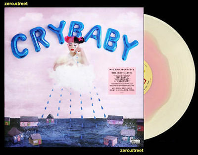 Melanie Martinez Cry Baby Lp On Pink White Vinyl New Still Sealed Colored