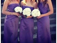 Set of Bridesmaids dresses