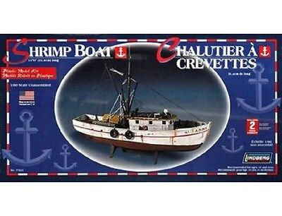 Lindberg 1/60 Scale Shrimp Boat SUZANNE Fishing Vessel 12-3/8''L  NEW
