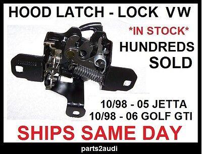 HOOD LATCH LOCK  VOLKSWAGEN 98.5-06 GOLF GTI, 99.5-05 JETTA (ALL MK IV BODIES)  (Jetta Hood Latch)